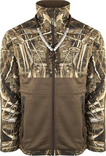 Drake Guardian Flex Full Zip Eqwader Wading Jacket, Color: Realtree Max-5, Size: X-Large (DW7310-015-4)