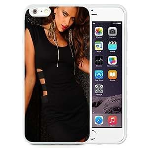 NEW Unique Custom Designed iPhone 6 Plus 5.5 Inch Phone Case With Irina Shayk Black Dress_White Phone Case
