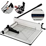 Mophorn Paper Cutter A3 Industrial Heavy Duty Guillotine Trimmer 17Inch 400 Sheets Guillotine Paper Cutter...