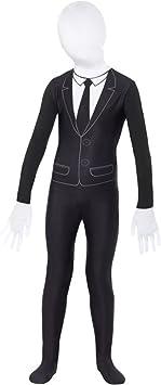 Smiffys-49674M Disfraz de niño Sobrenatural, con Mono, Color Negro ...