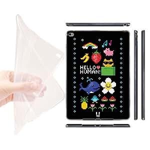 Head Case Designs Digital Nostalgia Pop Trends Soft Gel Back Case Cover for Apple iPad Air 2
