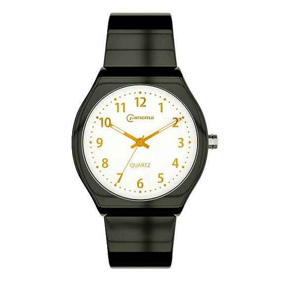 Reloj de Cuarzo para niña, Impermeable, Luminoso, Digital, Reloj de Pulsera: Amazon.es: Relojes