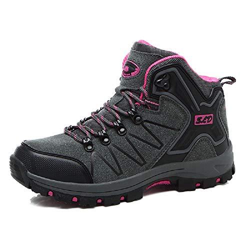 fc7694d9 Zapatos para mujer : Zapatos de hombre | Vestido, Botas, Casual, Correr y  más | Yesterdayes.com Qiusa Zapatos de Cuero Mujer Senderismo Caminar  Zapatillas ...