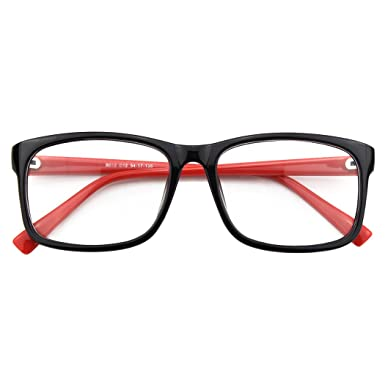 6fe13b9741 CGID CN12 Casual Fashion Basic Square Frame Clear Lens Eye Glasses ...