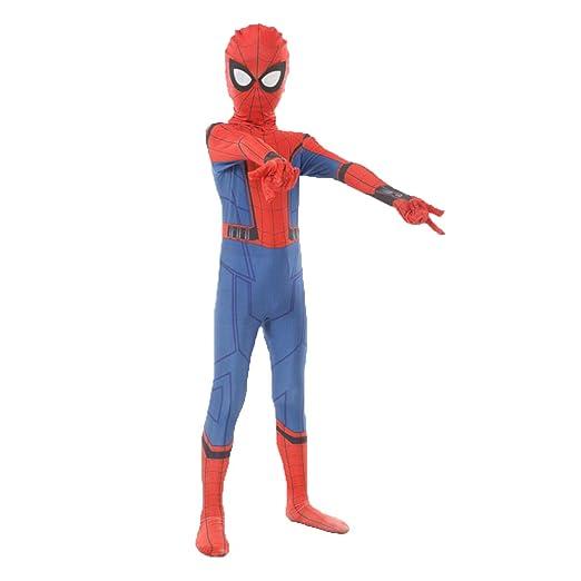 Traje de araña en 3D Juego Traje de Anime Disfraz de Spiderman ...