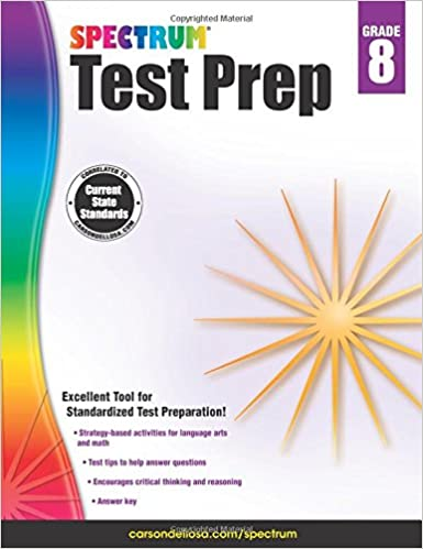 ((READ)) Spectrum Test Prep, Grade 8. comprar Services Amenaza telling BILLY Meneo