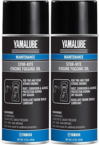 Yamalube Stor-Rite Engine Fogging Oil 12 oz. 2-Pack - Engine Fogging Oil