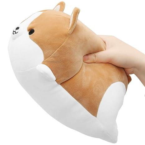 Amazon.com: Sofipal Corgi - Almohada de peluche, diseño de ...