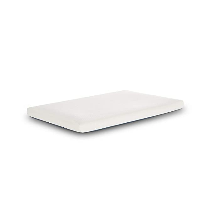 Ecus Care MCAR075052 - Colchón de minicuna anti plagiocefalia, 75 x 52, color blanco: Amazon.es: Bebé