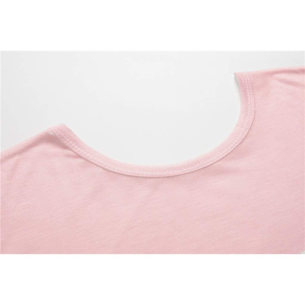 YFancy Womens Summer Tops Fashion Cute Geometric Animal Print O-Neck Soft Short Sleeve Loose Casual T-Shirt Blouse