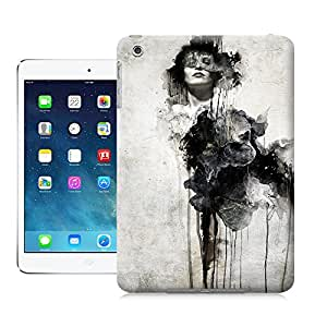 Buythecases durable kubicki painting digital art photoshop woman dramatic drip splash portrait mixed media for custom case for ipad mini