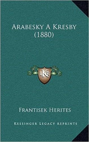 Arabesky A Kresby 1880 Czech Edition Frantisek Herites