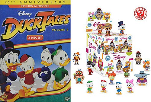 Fun Disney Afternoon Classics: Disney's Ducktales Volume 3 + Bonus Disney Afternoons Mini Blind Box (With Chance At Exclusives) (Donald Duck And Chip And Dale Videos)