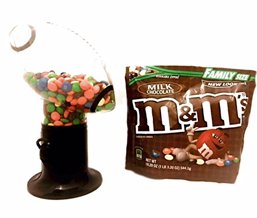 Football Snack Dispenser and M&M Candy