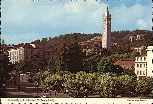 University of Clifornia - Sather Gate Berkeley, California Original Vintage - Gate Sather