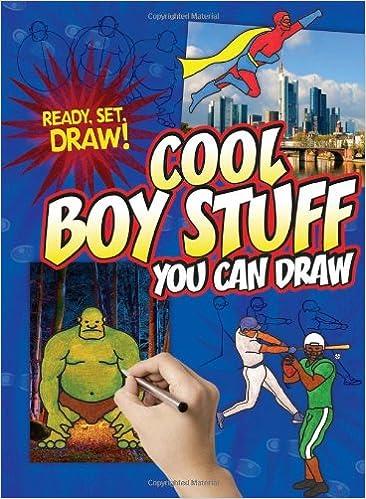 Cool Boy Stuff You Can Draw Ready Set Draw Nicole Brecke