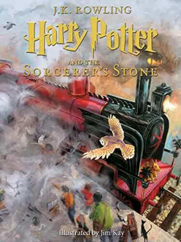 Harry Potter and the Sorcerer's Stone: Illustrated [Kindle in Motion] (Illustrated Harry Potter Book 1)