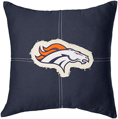 - The Northwest Company Officially Licensed NFL Denver Broncos Letterman Pillow, 18