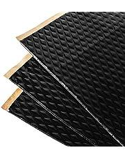 Noico Zwart 2 mm 3,4 m² zelfklevende anti-rammel trillingsdempende mat, auto akoestisch isolatie (lawaaireductie en geluiddemping voor auto)