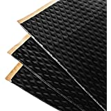 Noico Black 80 Mil 36 Sq Ft Car Sound Deadening, butyl automotive deadener restoration mat and Noise dampening…