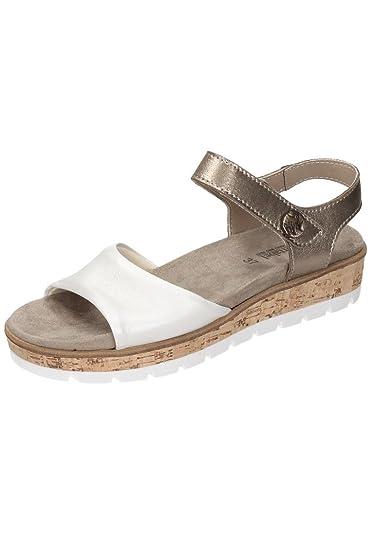 Comfortabel Damen-Sandale Zwei-/Mehrfarbig 710885-0, Grösse 39