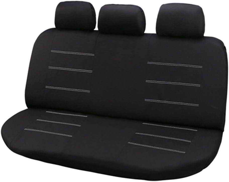 KKmoon Coprisedile per Auto 1 Paio di Proteggi Sedile Anteriore Universale per Auto Poggiatesta e Pad Pieno Circondare Adatto per la Maggior Parte di Auto Furgoni SUV Camion Beige
