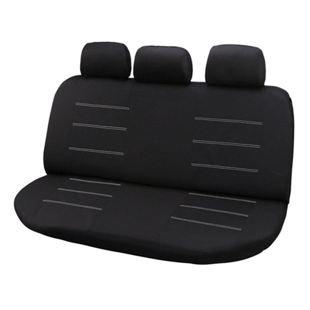 Set Completo di Coprisedili per Auto Macchina Seat Cover Universali Protezione per Sedile di Poliestere Set Completo di 9 ricamo farfalla