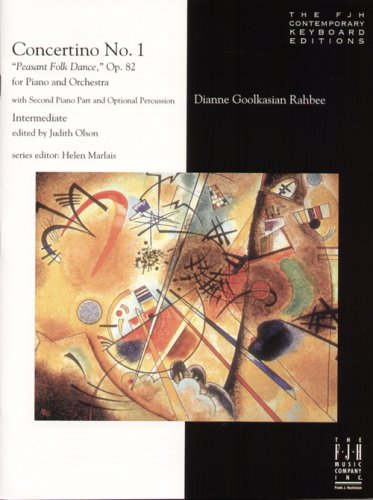 Concertino No. 1: Pleasant Folk Dance, Op. 82 pdf