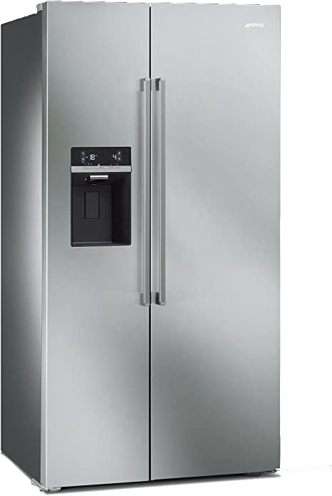 Smeg SBS63XED Independiente 544L A+ Acero inoxidable nevera puerta ...