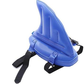 Hzjundasi Inflable Aleta de tiburón Agua Float Piscina Floating Tool Anillo de natación Principiante: Amazon.es: Juguetes y juegos