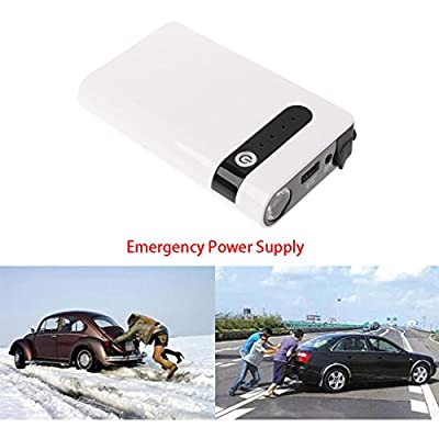12V 20000mAh 3 USB Portable Car Jump Starter Booster Charger Battery Power Bank