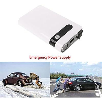 12V 20000mAh 3 USB Portable Car Jump Starter Booster Charger Battery Power Bank