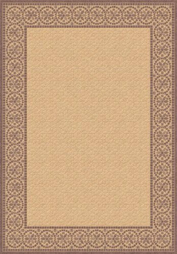 Dynamic Piazza Rugs Machine - Dynamic Rugs Piazza 5.3X7.7 2745-3001 Brown