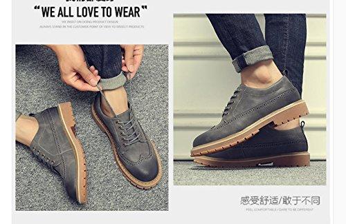 Hl-pyl-martin Langsame Schuhe neuen koreanischen all-match männlich Langsame Hl-pyl-martin Schuhe aus Leder 3c14de