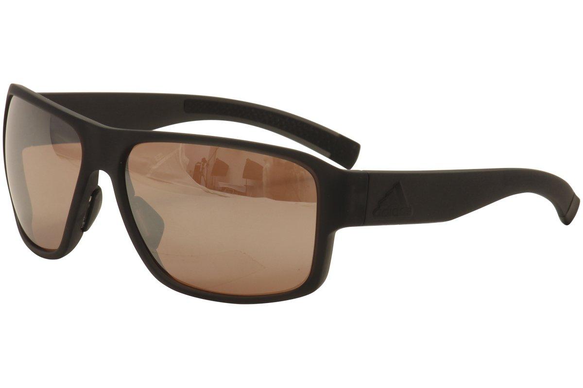 f857038fad Amazon.com  adidas Jaysor Rectangular Sunglasses coal matte 60 mm  Clothing