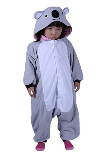 DATO Niños Animal Ropa de Dormir Koala Cosplay Disfraces Pijamas
