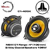 JL Audio C1-400 x 4 2-Way Coaxial Car Audio Speakers
