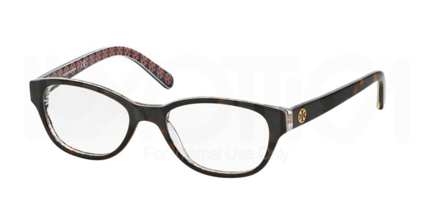 Tory Burch TY2031 Eyeglass Frames 1043-51 - Tortoise Frame, Demo Lens