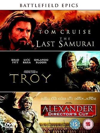 The Last Samurai/Troy/Alexander Director's Cut DVD 2006