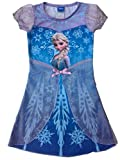 Disney Frozen Dress Princess Elsa Girls Skirt Costume Nightgown Pajama (Height