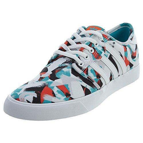 adidas Originals Männer Seeley Schnürschuh Schuhe Weiß / Energy Blue / Energy Blue