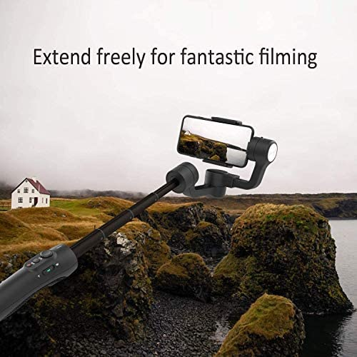 3-Axis Gimbal Stabilizer for iPhone 11 Xs Max XR X 8 7Plus 6 Smartphone Vlog Youtuber Samsung Galaxy Note10/10+ S10+ S9 POV Hitchcock Panorama Face Object Tracking Timelapse FeiyuTech Vimble 2S 51dARD 2B1QlL