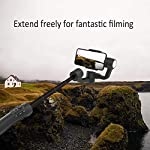 3-Axis Gimbal Stabilizer for iPhone 11 Xs Max XR X 8 7Plus 6 Smartphone Vlog Youtuber Samsung Galaxy Note10/10+ S10+ S9 POV Hitchcock Panorama Face Object Tracking Timelapse FeiyuTech Vimble 2S 3