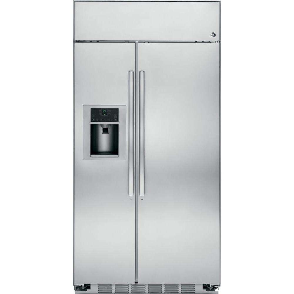 Amazon.com: GE PSB48YSHSS Profile 28.6 Cu. Ft. Stainless Steel ...