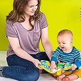 Bright Starts Playful Storytime Giraffe Soft Puppet Book, Newborn