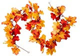 Get into the spirit of Fall! Nothing quite says Fall like leaves changing colors and warm berries. What better way to capture the Autumn season than with a colorful Fall garland on your mantelpiece or across your piano? Beautiful Colors to Br...
