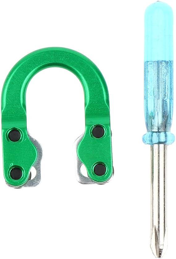 Archery Metal D Loop Ring Lope Buckle Aluminum U Shape Shooting Buckle Black