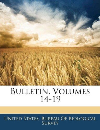 Download Bulletin, Volumes 14-19 pdf epub