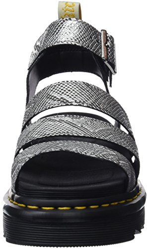 Silber Black Damen Silver Martens V Sandalen Blaire Dr 040 F4XSq4