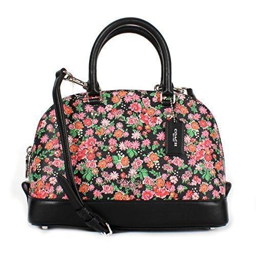 Coach Pink Floral Multi Mini Sierra Satchel F57621